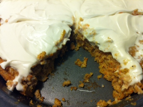 Gluten and grain free carrot cake. Nuff said.
