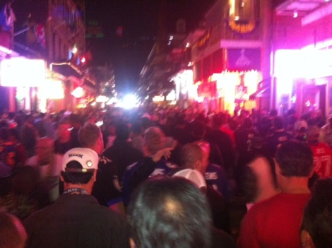 New Orleans. Mardi Gras. And Super Bowl!