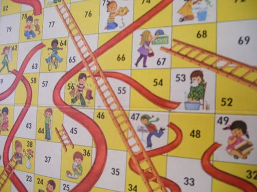 Chutes and Ladders | Lessons From the End of a Marriage