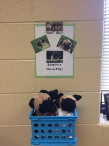 "The ""therapy dogs"" in my classroom:)"